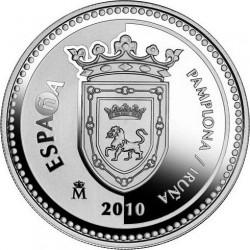 5 евро, Испанские столицы. Памплона