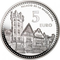 5 евро, Испанские столицы. Сантандер
