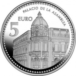 5 евро, Испанские столицы. Сеута