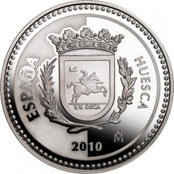 5 евро, Испанские столицы. Уэска