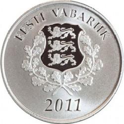 Эстония, 10 евро, 2011, Будущее Эстонии, аверс