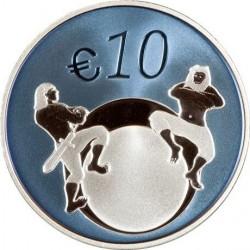 Эстония, 10 евро, 2011, Будущее Эстонии, реверс