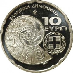 10 евро, Греция (Международный год биоразнообразия)