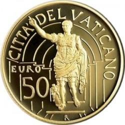 Шедевры скульптуры в Ватикане. 2010, 50 евро