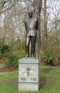 Памятник Бодуэну I в городском парке Гента