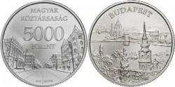 Венгрия, 5000 форинтов, «Будапешт»