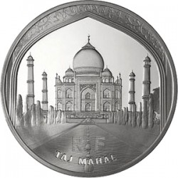 Франция, 2010 (Тадж-Махал), 10 евро