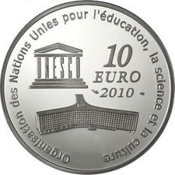 France 2010 10 euro Taj-Mahal rev