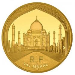France 2010 50 euro Taj-Mahal rev