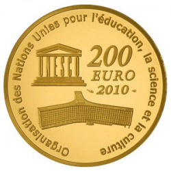 Франция, 2010 (Тадж-Махал), 200 евро