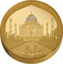 Франция, 2010 (Тадж-Махал), 5000 евро