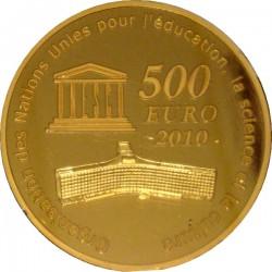 Франция, 2010 (Тадж-Махал), 500 евро