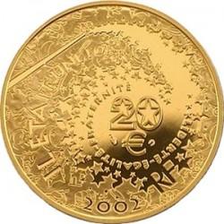 Фрнация, 20 евро, 2002
