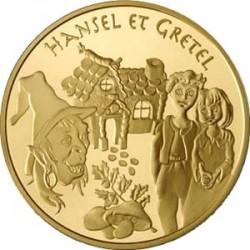 Гензель и Гретель, Франция, Сказки Европы, 20 евро