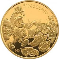 Франция, Пиноккио, Сказки Европы, 20 евро