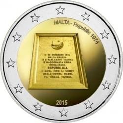2 euro. malta 2015