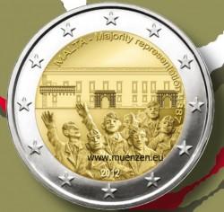 2 евро, Мальта, 2012