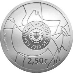 2 1/2 евро, Португалия (Археологический парк долины Коа)