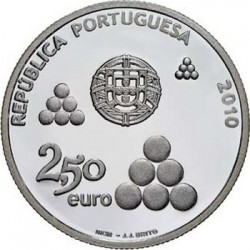 2,5 евро, Португалия (200 лет линии Торреш-Ведраш)