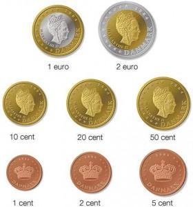 Возможно, евро Дании будут выглядить так
