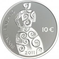 10 euro, Finland (Hella Wuolijoki)