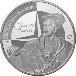 France, 2011 - 10 euro, Jacques Cartier