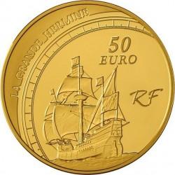 France, 2011 - 50 euro, Jacques Cartier