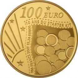 Франция, 2011 (Стартовый набор). 100 евро