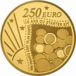 Франция, 2011 (Стартовый набор). 250 евро