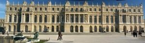 Фасад Версальского дворца