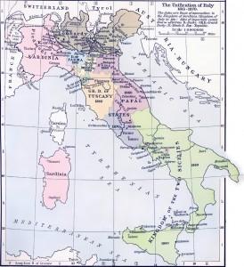 Государства Италии в 1815 1870 гг.