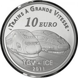 France. 2011. 10 euro. La Gare de Metz
