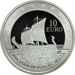 Malta, 2011, 10 euro, Phoenicians in Malta