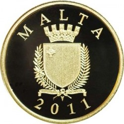 Malta, 2011, 50 euro, Phoenicians in Malta