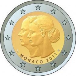 2 euro, Monaco, 2011