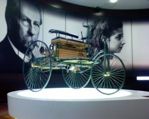 Автомобиль Бенца 1885 года сборки