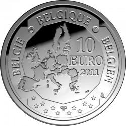 Бельгия, 10 евро 2011, Южный полюс