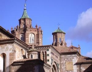 Купола собора в Теруэле