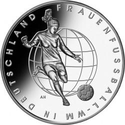 Германия, 10 евро, Чемпионат мира по футболу среди женщин 2011