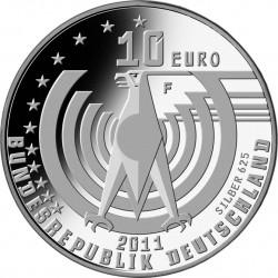 Германия, 10 евро, 125 лет автомобилю