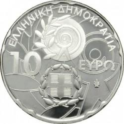 Greece 2011. XIII SPECIAL OLYMPICS WORLD SUMMER GAMES. Acropolis. 10 euro