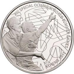 10 евро «Специальные Олимпийские игры. Главный момент соревнования»
