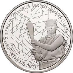 10 евро «Специальные Олимпийские игры. Факелоносец»