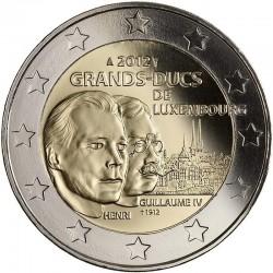 2 евро, Люксембург, 2012