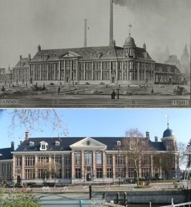 Монетный двор в Утрехте - 100 лет назад и сегодня