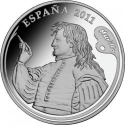 Испания, 2011, 10 евро (Бартоломе Эстебан Мурильо)