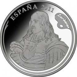 Испания, 2011, 10 евро (Франсиско де Сурбаран)