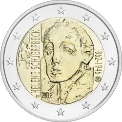 finland 2012. 2 euro. Helen Schjerfbeck