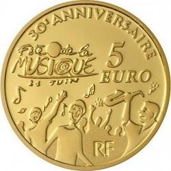 5 евро, Франция, 2011, 30 лет фестивалю музыки