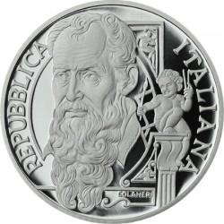 10 euro, Italy (500° annivers. della nascita di Giorgio Vasari)